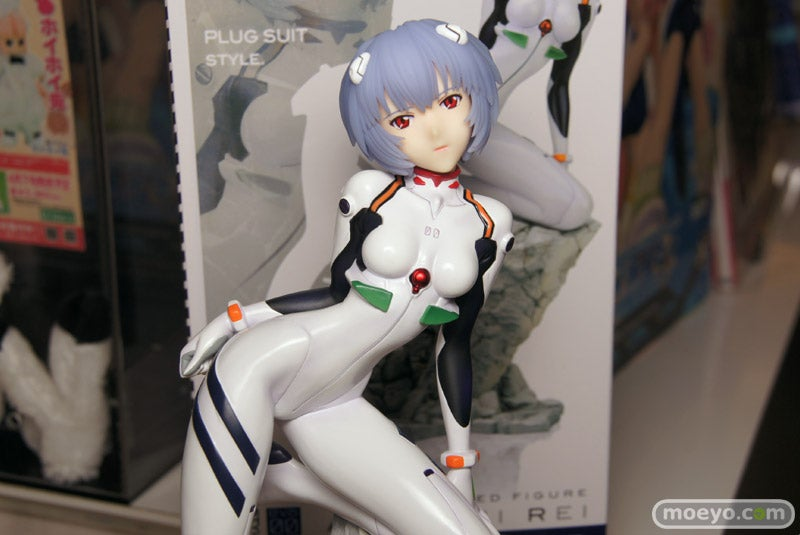 Another Rei Ayanami Figure For the Pile