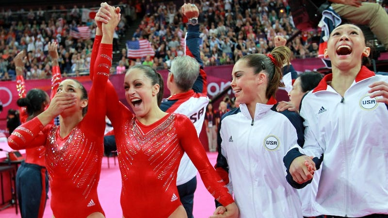 Happy, Healthy, And Hitting Their Spots: How The American Women's Gymnastic Team Won The Gold
