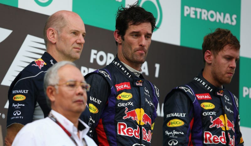 Vettel And Webber Make For One Hell Of An Awkward Malaysian Grand Prix