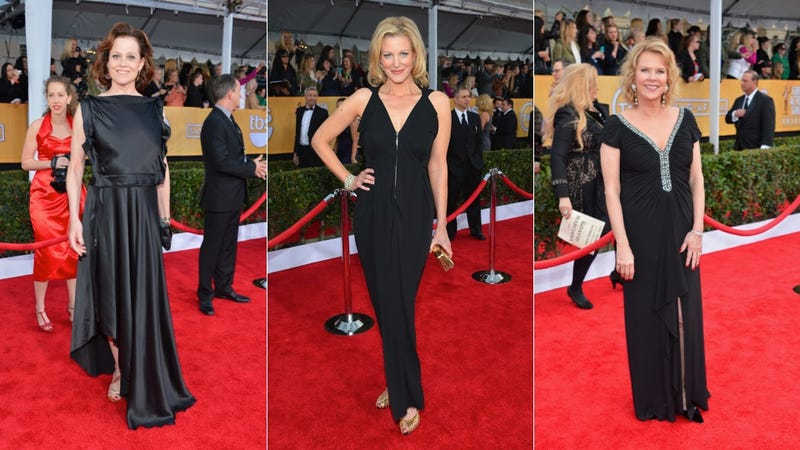 Classic Glamour and Fugly Failures at the SAG Awards
