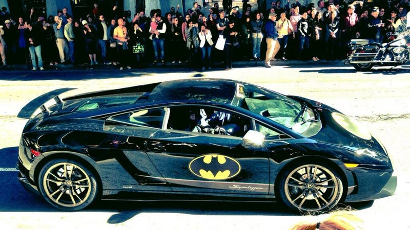 Make-A-Wish Helps Batkid Takes Over San Francisco With Lamborghinis