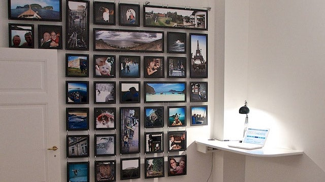 The Photo Wall Workspace