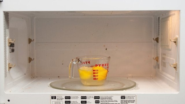 Use a Lemon to Make Cleaning the Microwave Easy