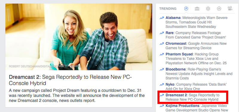 Facebook News Goes All In and Jumps to Totally Wrong Conclusion