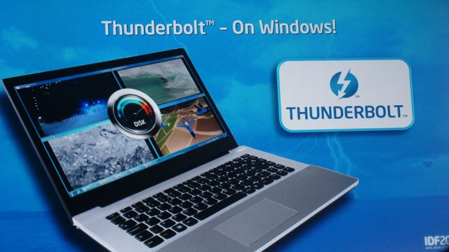 Thunderbolt Is Coming to Windows in 2012
