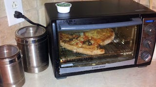Reheat Leftover Garlic Dipping Sauce on Top of the Toaster Oven