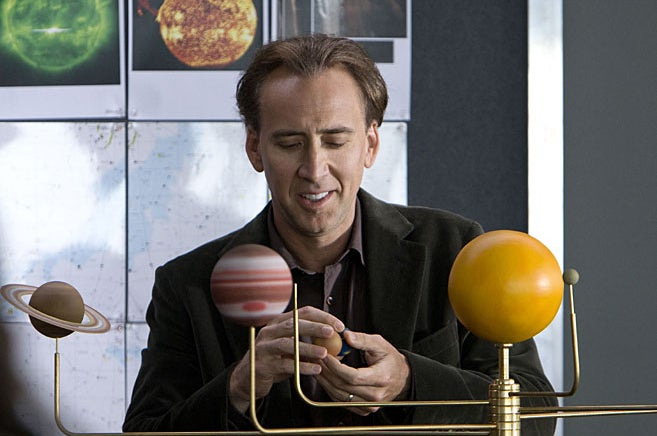 Nicholas Cage Takes On Sept. 11