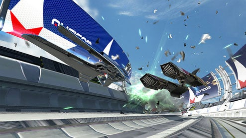 Sexy New WipEout HD Screens