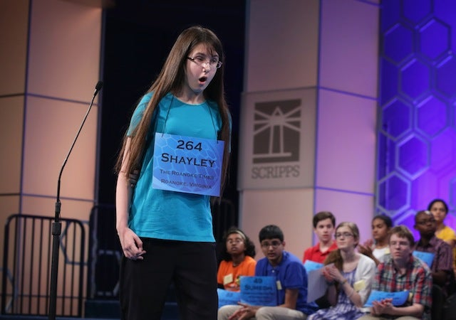 Adorable Thinkfaces of the National Spelling Bee Semifinals