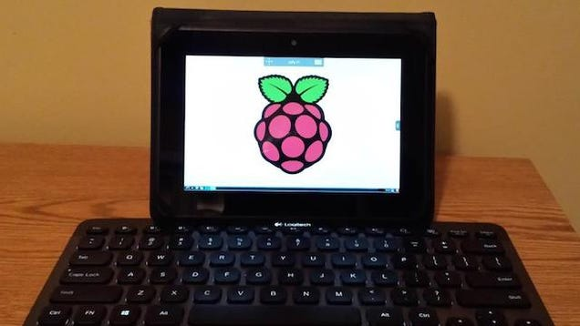 Use a Kindle Fire as a Screen for a Raspberry Pi
