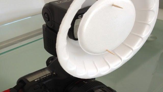 DIY Camera Beauty Dish