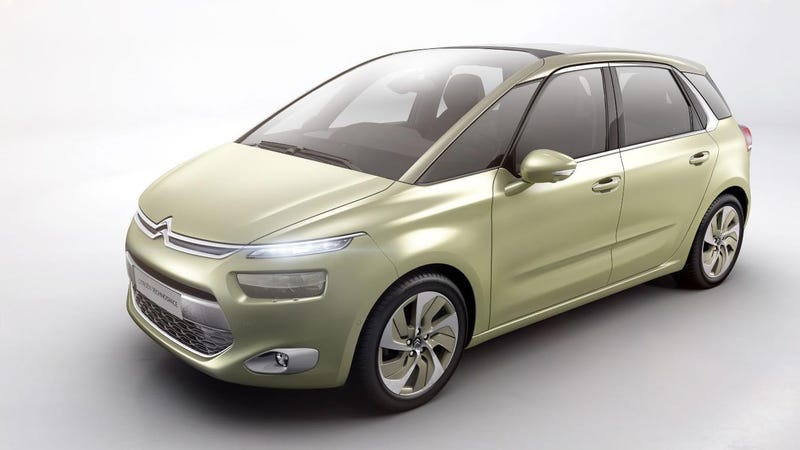 How About A Family Car From Citroën Called Technospace?