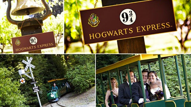 Glamour Says Your Harry Potter Wedding Is Cheesy