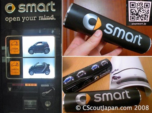 SMART Car Vending Machine Only Dispenses Marketing Materials, False Hope
