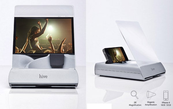 An iPhone Dock for Olds