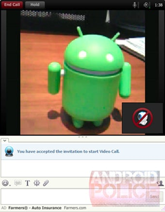 Yahoo Messenger With Video Calling Plucked From Leaked Android ROM