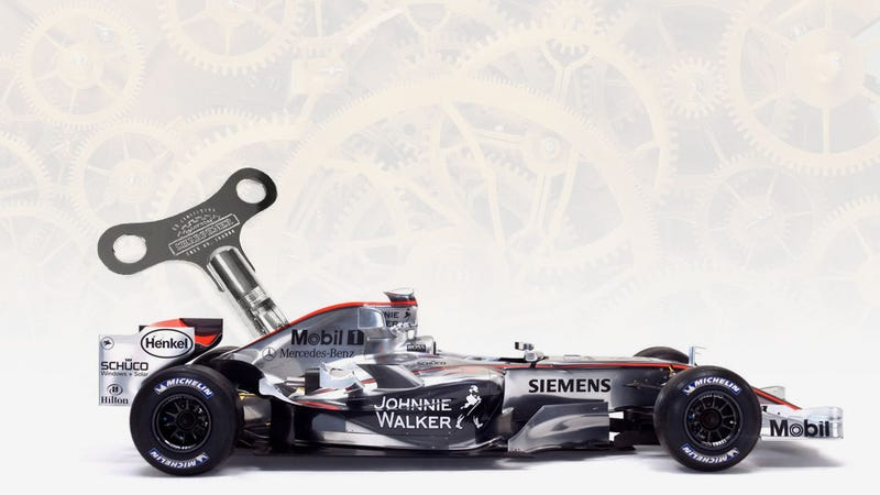 Could You Have A Clockwork KERS System On An F1 Car?
