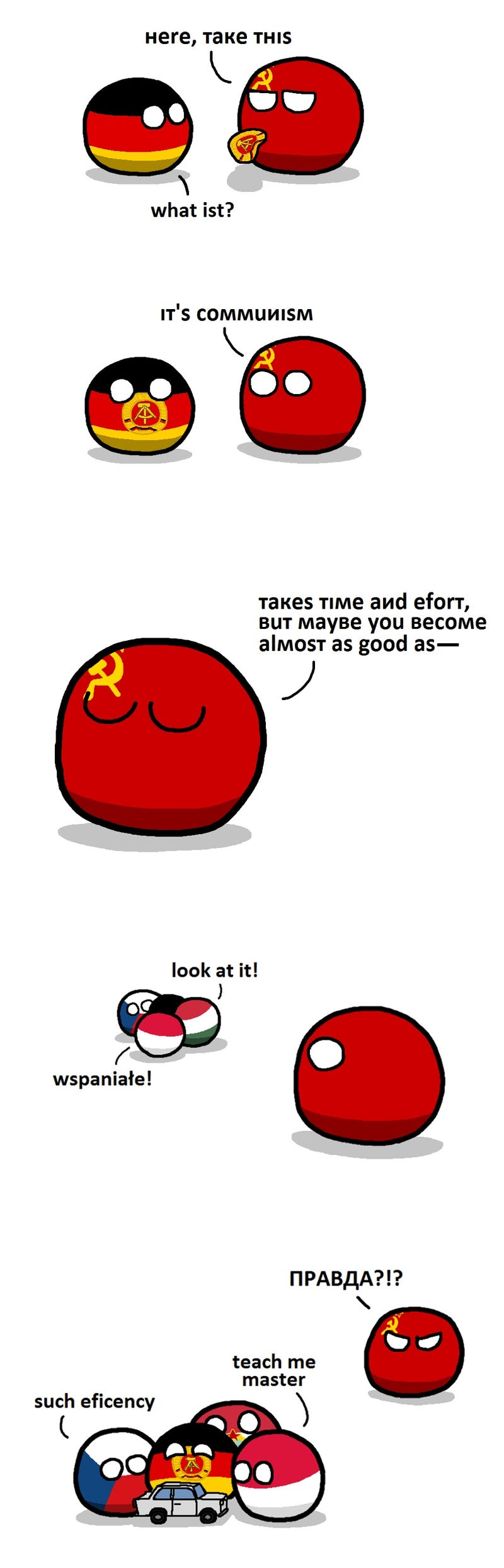 Early morning Polandball