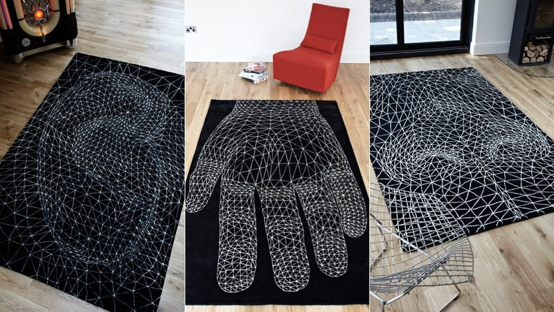 These Eye-Popping Rugs Are Actually Perfectly Flat