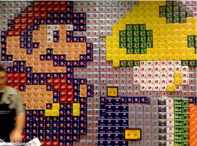 The Mario Scape Pepsi Built
