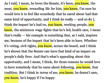 Caroline Kennedy's Not-So-Eloquent NYT Interview