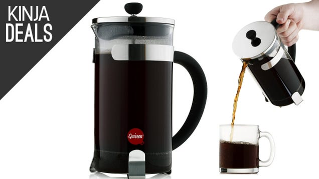 Coffee Press Better Than Coffee Maker : Brew Better Coffee With This USD 13 French Press