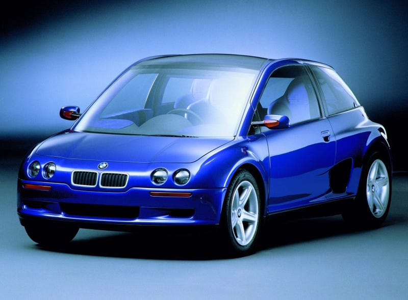 The Bmw I3 Looks A Lot Like This Crazy Forgotten 90s