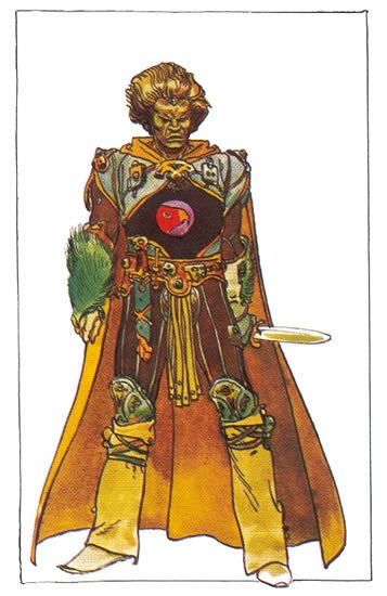 Costume Designs and Storyboards from the Dune That Never Was