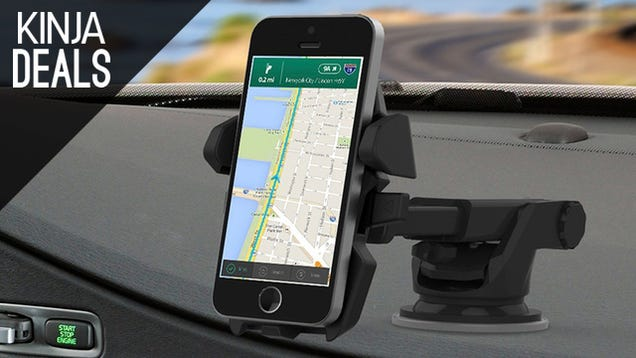 The Smartphone Dash Mount You Deserve is Cheaper Than Ever Today