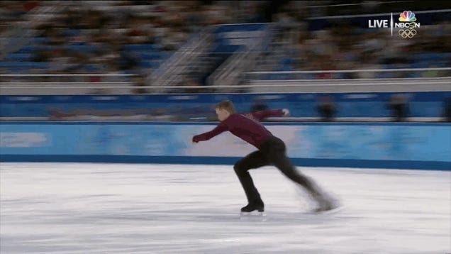 Athletes Who Ate It At The Olympics: A GIF Gallery