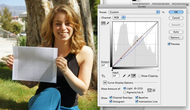 how to get perfect white balance in photoshop