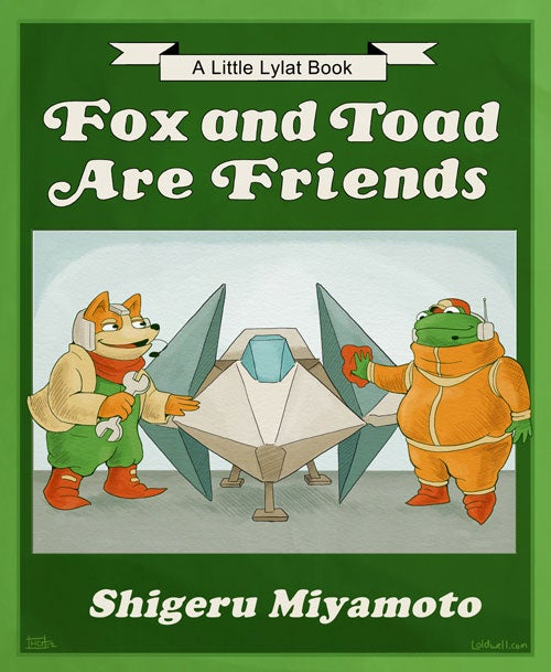 If Nintendo Made Children's Books...