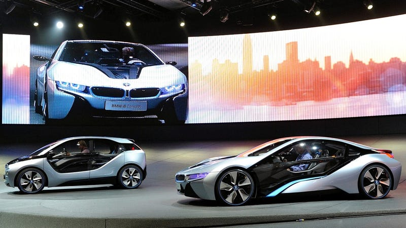 BMW's laser-emitting, Tron-like future cars