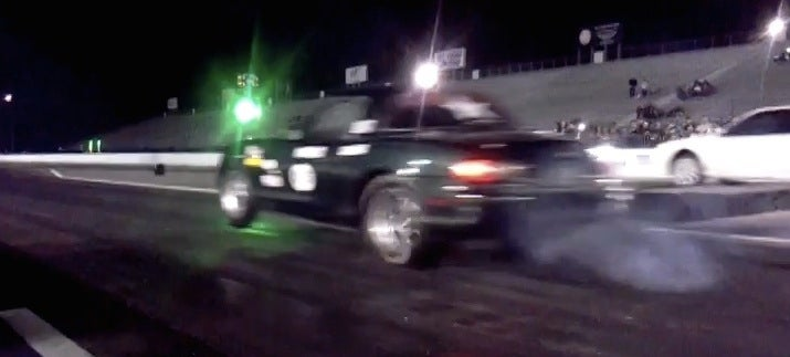 Sparking And Screaming Electric Miata Dragster Is Best Miata Dragster