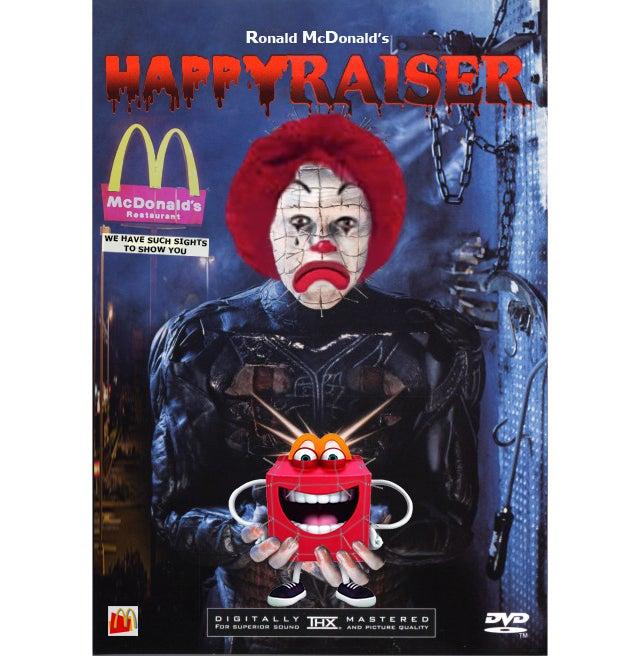 23 Better Uses For the Terrifying New McDonald's Mascot