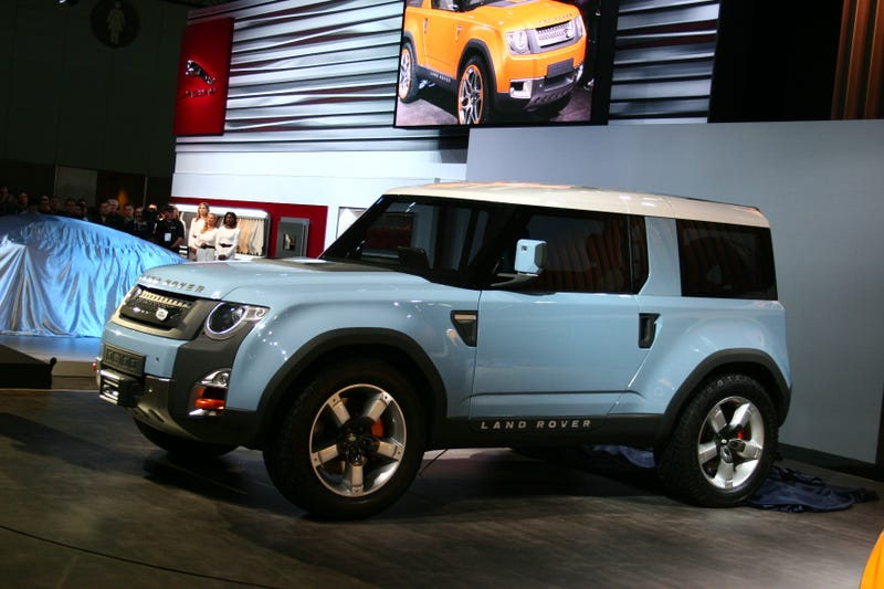 Land Rover DC100 Concept: Live Photos