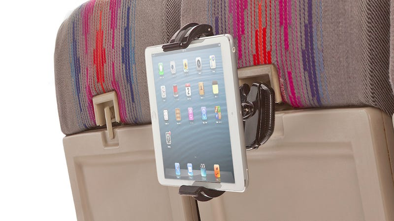 The Skyview Turns Your Tray Table Lock Into a Hands-Free Device Mount