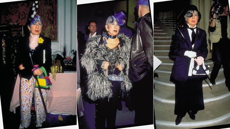 A Look Back at Some of Anna Piaggi's Most Extravagant Outfits