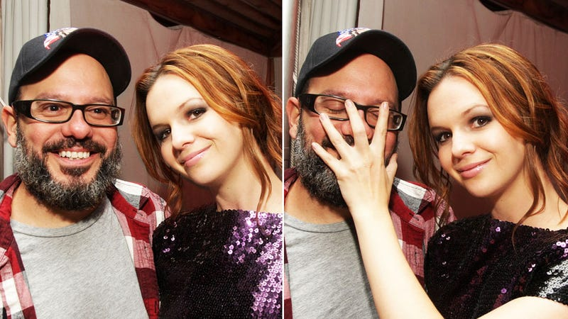 David Cross and Amber Tamblyn Are Engaged