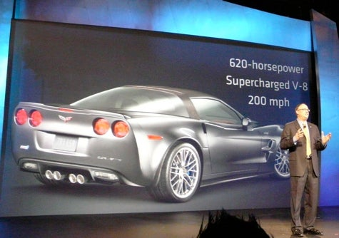 Chicago Auto Show: 2009 Corvette ZR1 Numbers Confirmed?
