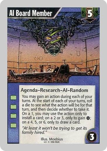 The Quaint 1990s Cyberpunk Of Netrunner