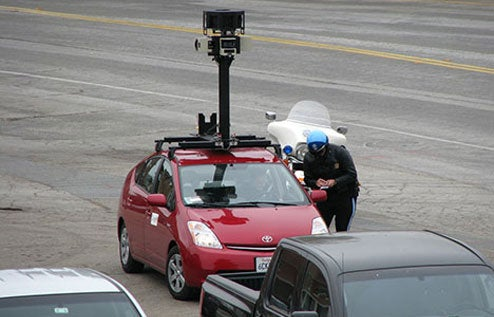 Karma Is A Bitch: Google Street View Prius Ticketed