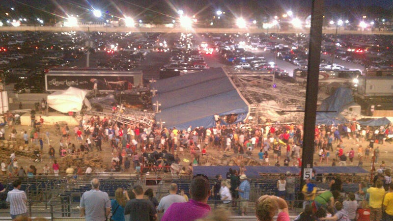 Indiana State Fair Stage Collapses, Killing Five