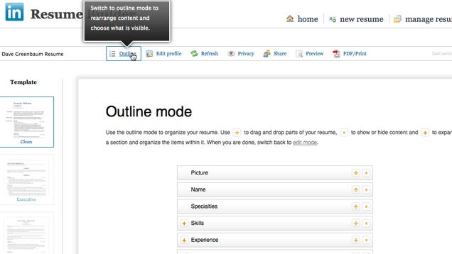 resume builder from linkedin linkedin aus resume builder makes from your profile using maker android app - Linkedin Resumes