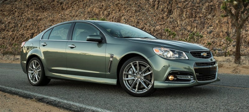 Holy Crap The 2015 Chevrolet SS Is Getting A Stick Shift: Motor Trend