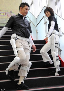 HAL Robot Exoskeletons Available for Rent