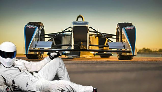 The Stig Joins Formula E ... Might Make it Worth Watching