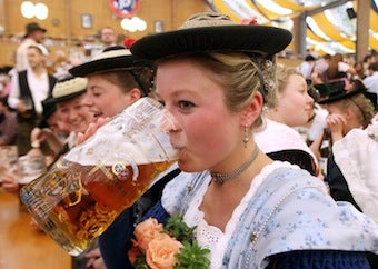 Oktoberfest Sets New Beer-Consumption Record