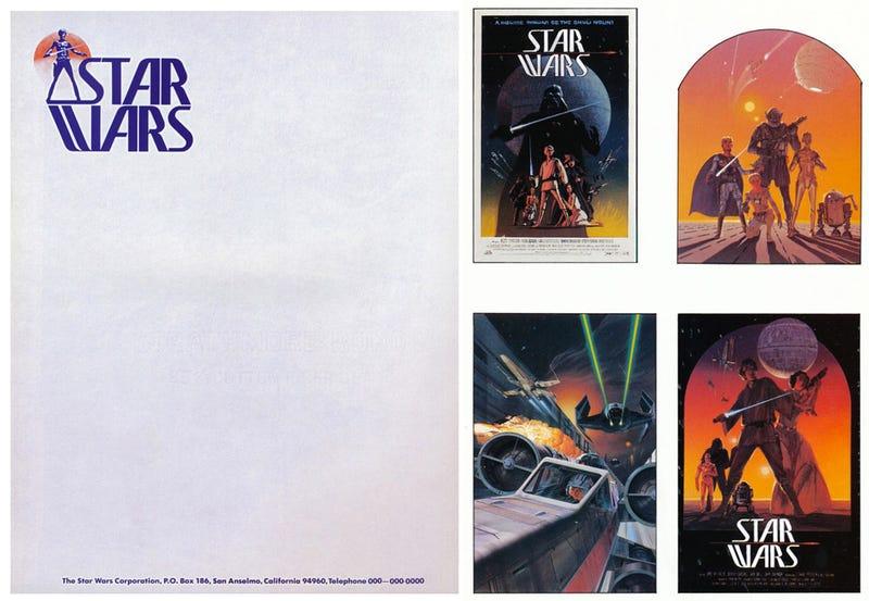 La fascinante evolución del logotipo de Star Wars, en imágenes