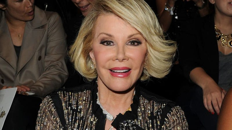 Fabulousness Expert Joan Rivers: OWS Could Use Some More Fabulous Gay Men
